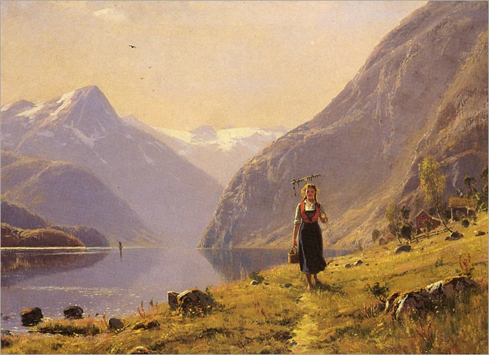 Dahl_Hans_(Norwegian)_1849_to_1937_By_The_FJord (2)