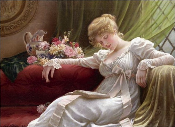 Eva Hollyer (English artist 1865-1943) - Reverie