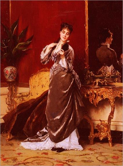 GustaveLDeJonghe_dressing_for_the_ball