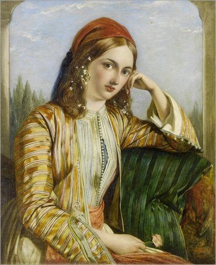 HENRY NELSON O'NEIL (1817 - 1880) - THE SULTANA, 1851