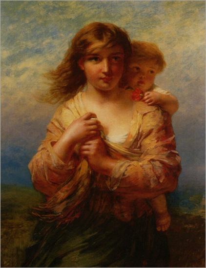 Hill_James_John_Mother_and_Child