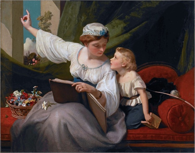James Sant (british-1820-1916)The Fairy Tale