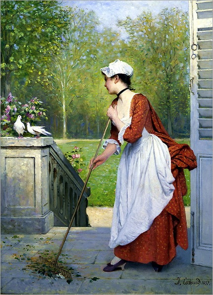 Joseph Caraud (1821-1905) - The Love Birds