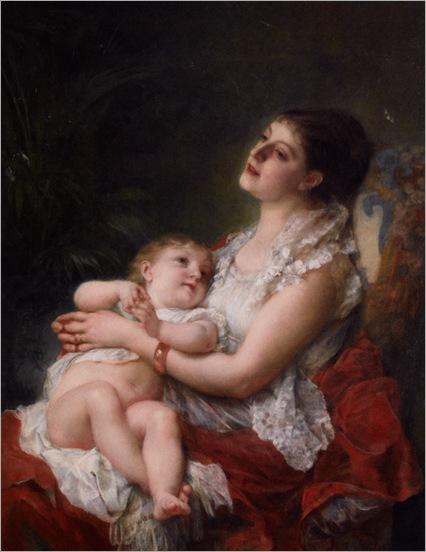 Jourdan_Adolphe_A_Mothers_Embrace