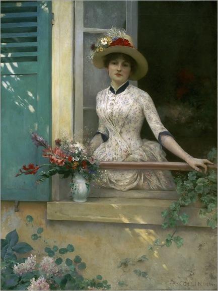 Louis-Joseph-Raphaël Collin (Paris, June 17, 1850 - Brionne, 1916)_morning 1884