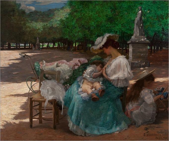 Maternity - Eliseu Visconti (brazilian painter)