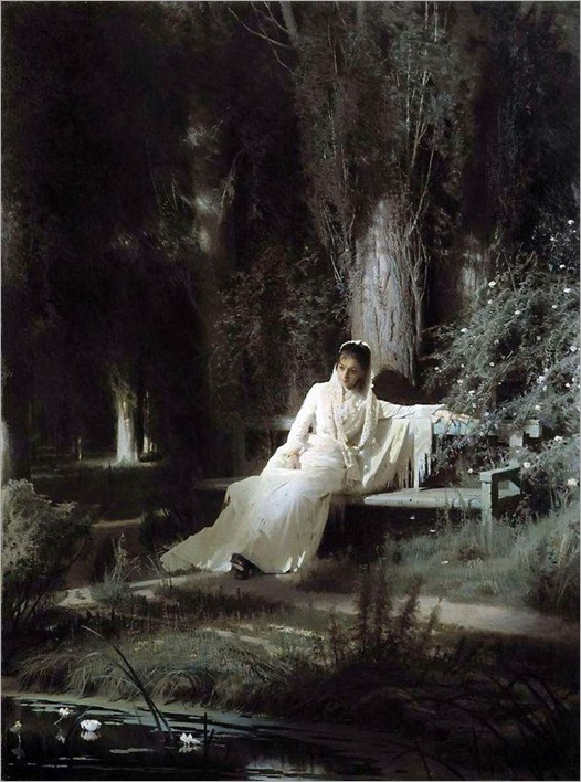 Moonlight Night -1880- Ivan Kramskoy (russian painter)