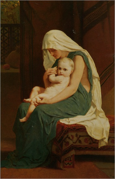Mother and Child - Frederick Goodall