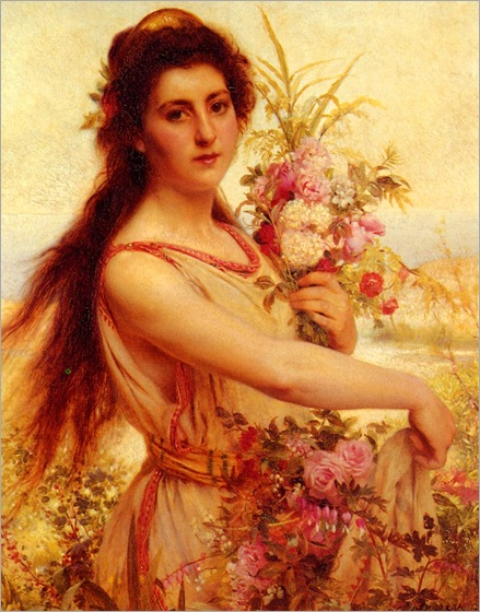 PierreJanVanDerOuderaa(1841-1915)young_beauty_gathering_flowers