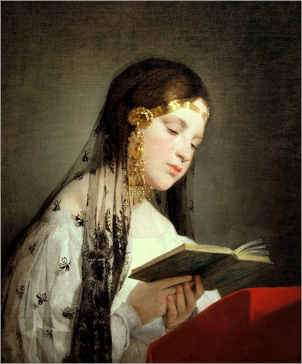 Reading Girl - Friedrich von Amerling