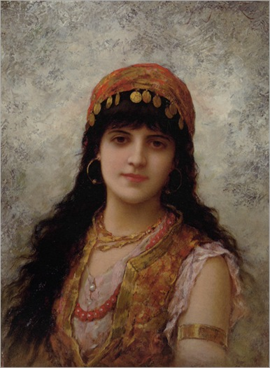 Semenowski_Emile_Eisman_An_Oriental_Beauty_1887