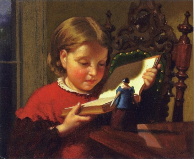 Seymour Joseph Guy (1824-1910)   An Interesting Book