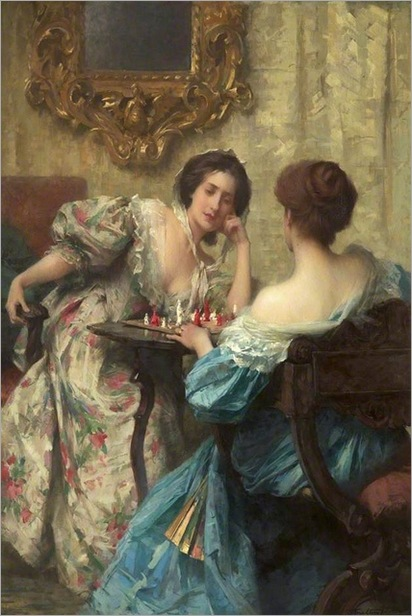 The Chess Players, Samuel Melton Fisher