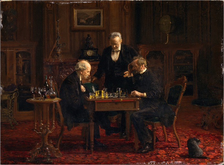 Thomas Eakins - The Chess Players [1876]