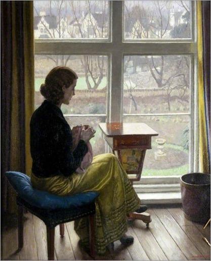 A Window in St John's Wood, Harold Knight