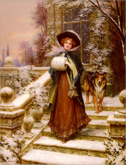 a winter rose -Sydney Percy Kendrick