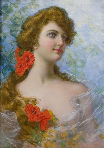 A Young Beauty - Gaetano Bellei