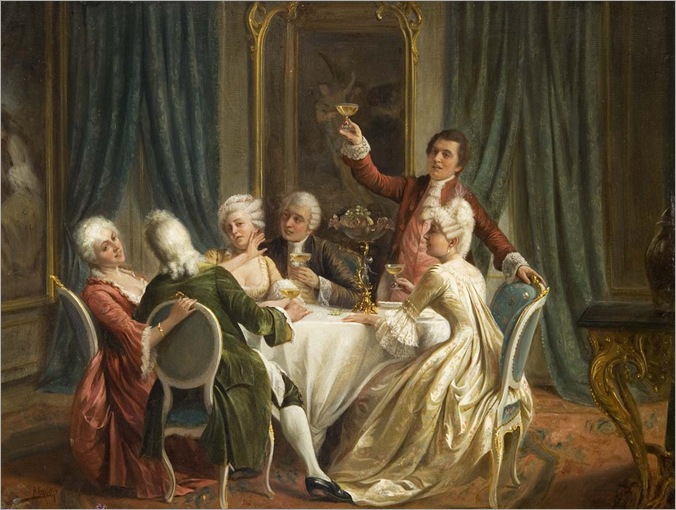 August_Hermann_Knoop_A_Toast