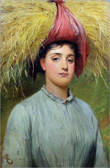 Charles Sillem Lidderdale (1831-1895) -A Gleaner