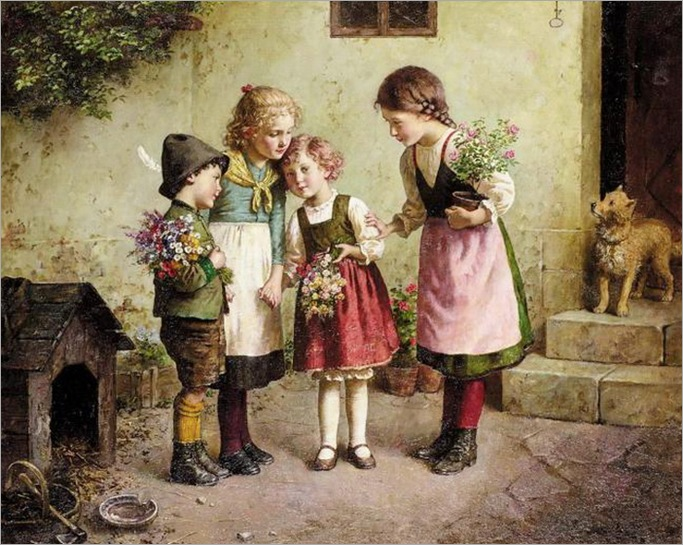 EDMUND_ADLER_FLOWERS_FOR_GRANDMOTHER
