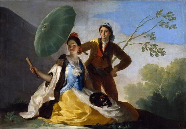 Goya - The Parasol -1777
