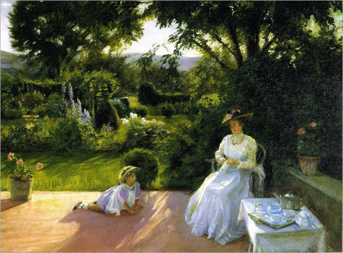 Grandmother's Garden - Lydia Field Emmett