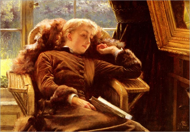 James_Tissot_Kathleen_Newton_In_An_Armchair