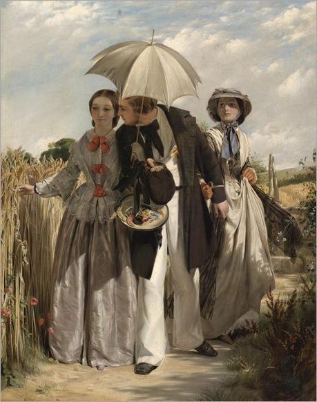 John Callcott Horsley - Showing a Preference 1860