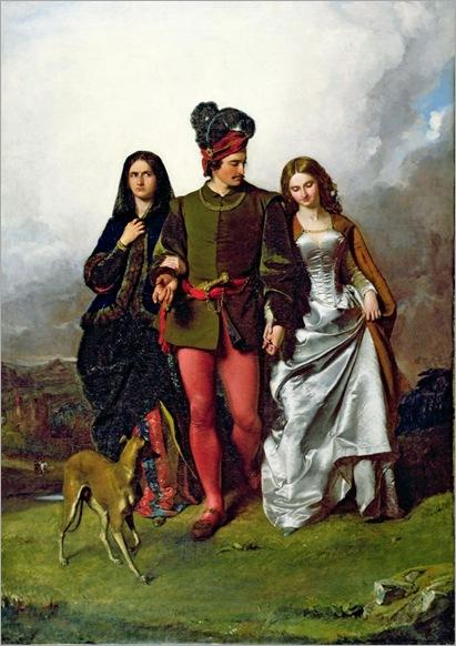 John Faed (1819-1902)- The Cruel Sister 1851