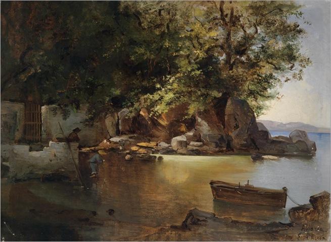 LEA VON LITTROW (Trieste 1860–1914 Abbazia) Scene from Abbazia_1024x751