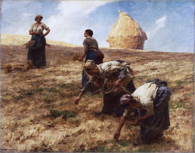 Léon-Augustin Lhermitte - The Gleaners - 1887
