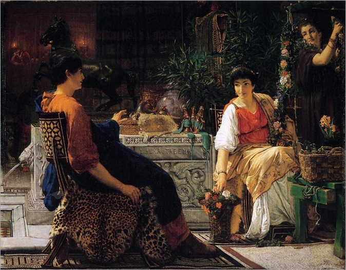 Preparations for the Festivities-Alma-Tadema