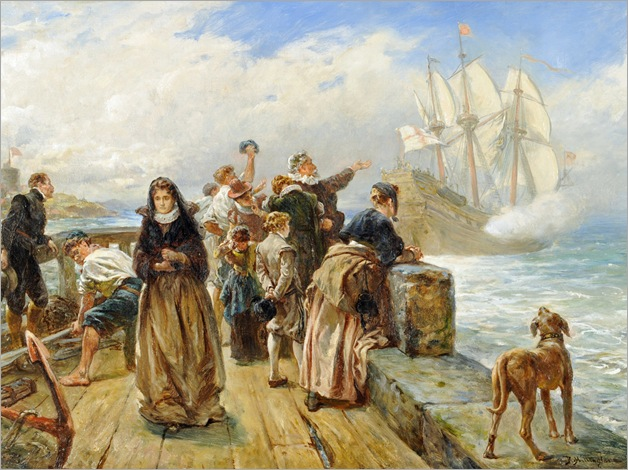 Robert Alexander Hillingford - Leaving Port