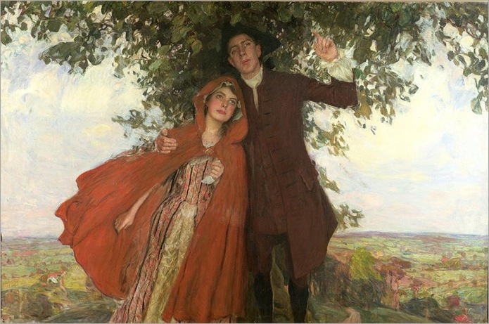 Tess of the d'Urbervilles or the elopement-William Hatherell