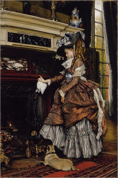 Tissot_James_Jacques_The_Fireplace