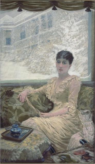 winter day-Giuseppe de Nittis-1882