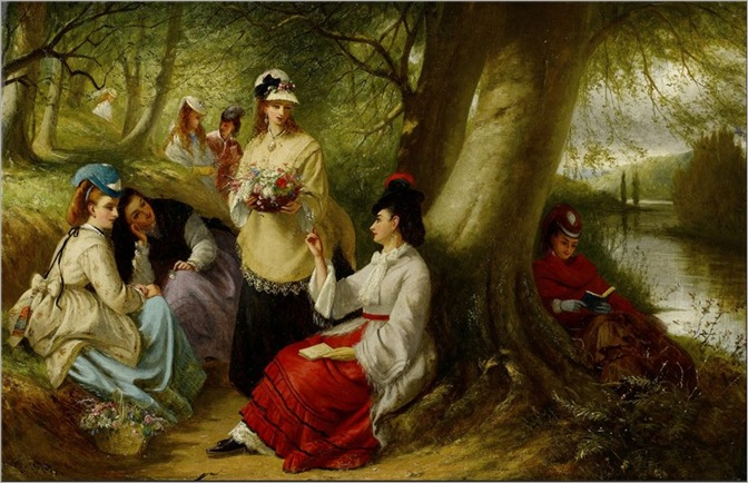 Woodland flowers- Thomas Brooks