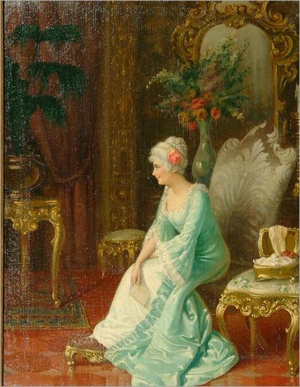 Amedeo Simonetti (1874-1922) - The letter