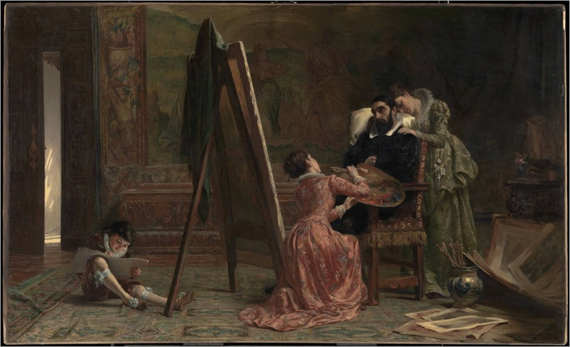 Ars longa, vita brevis - John Haynes-Williams - 1877