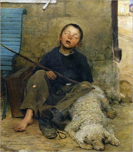 Bastien_Lepage_le_petit_colporteur_endormi