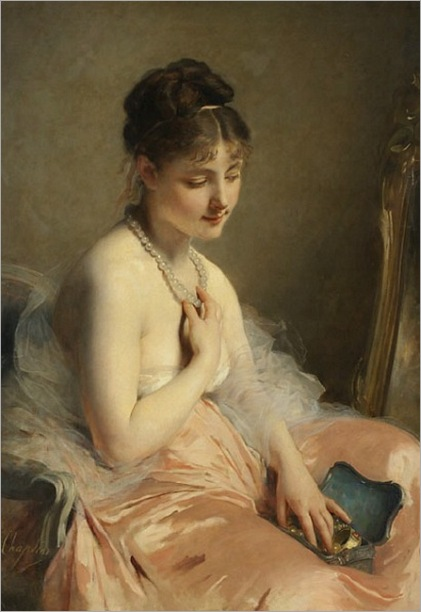 Charles Chaplin - The Pearl Necklace - 19th century