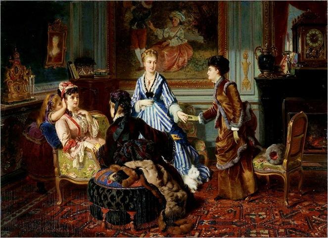 charles edouard boutibonne - le jour de madame