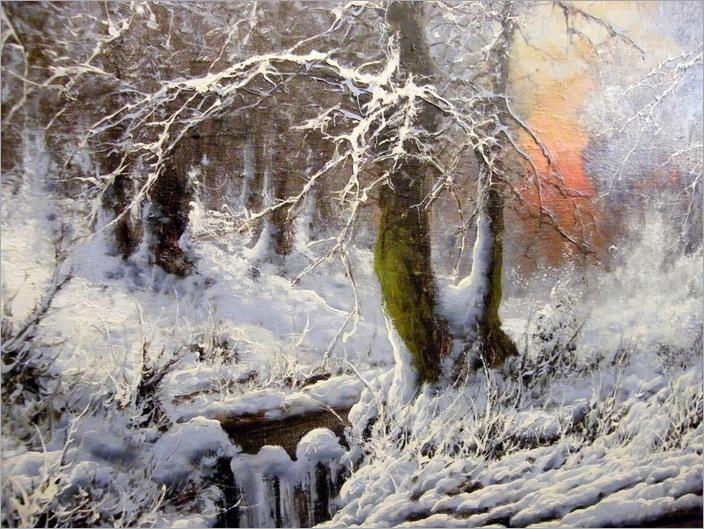 deep mid winter - Laszlo Neogrady