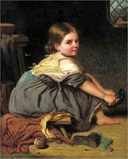 Dressing Myself - John Thomas Peale-19 th century