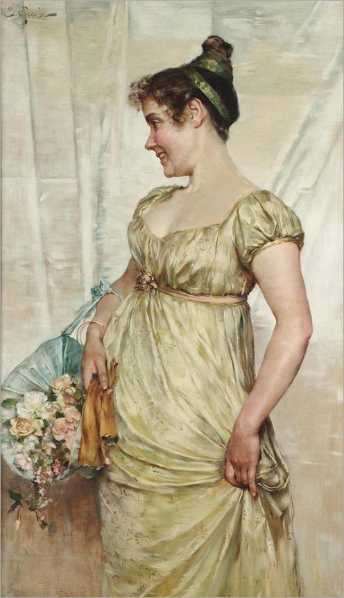 E. Giachi, XIX century, An Italian beauty
