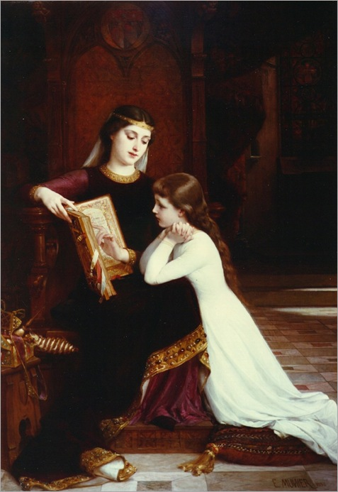 Emile_Munier_reading_lesson