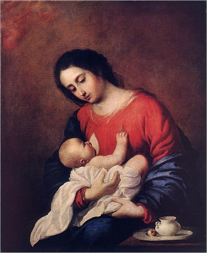 FranciscoDeZurbaran-madonna_with_child
