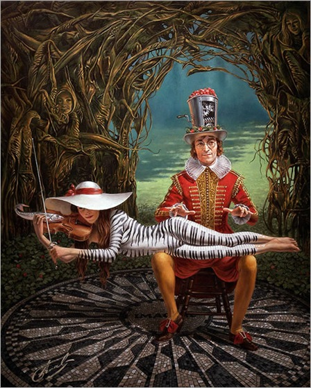 Imagine III - Michael Cheval