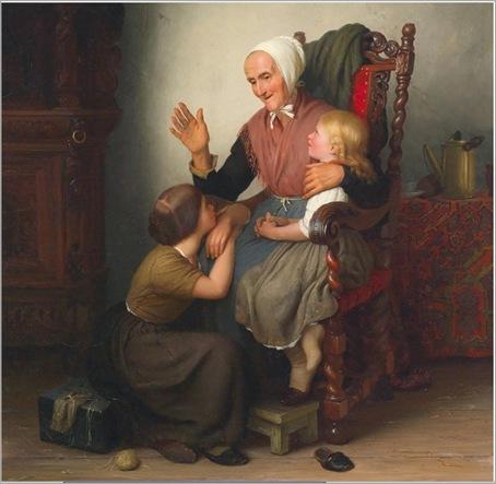 Johann_Georg_Meyer_von_Bremen-With_the_Grandmother_1847