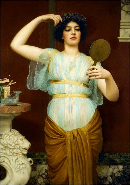 John William Godward (British, 1861-1922) - Ione